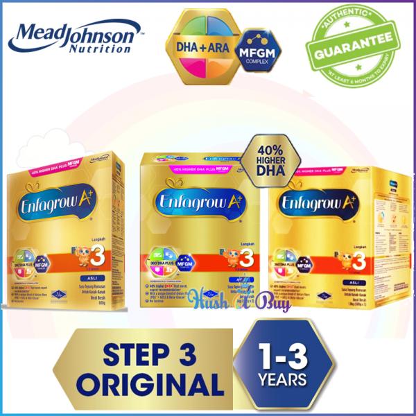 Enfagrow A+ Step 3 Original - 600g/ 1.2kg/ 1.8kg