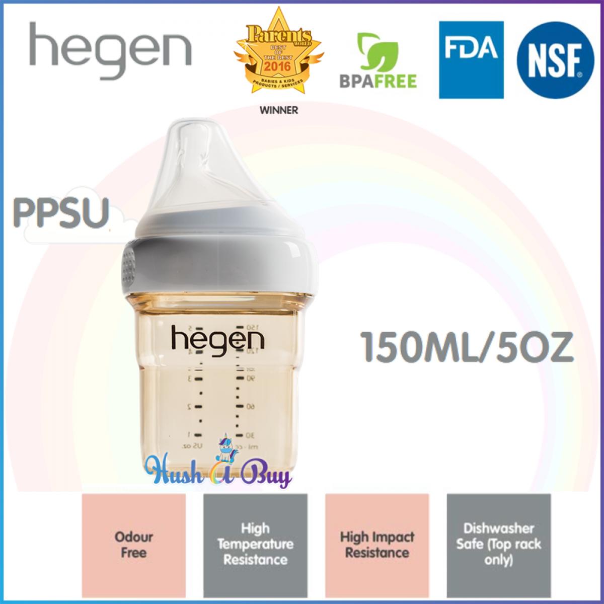 Hegen PCTO Feeding Bottle PPSU Single - 150ml/ 240ml/ 330ml