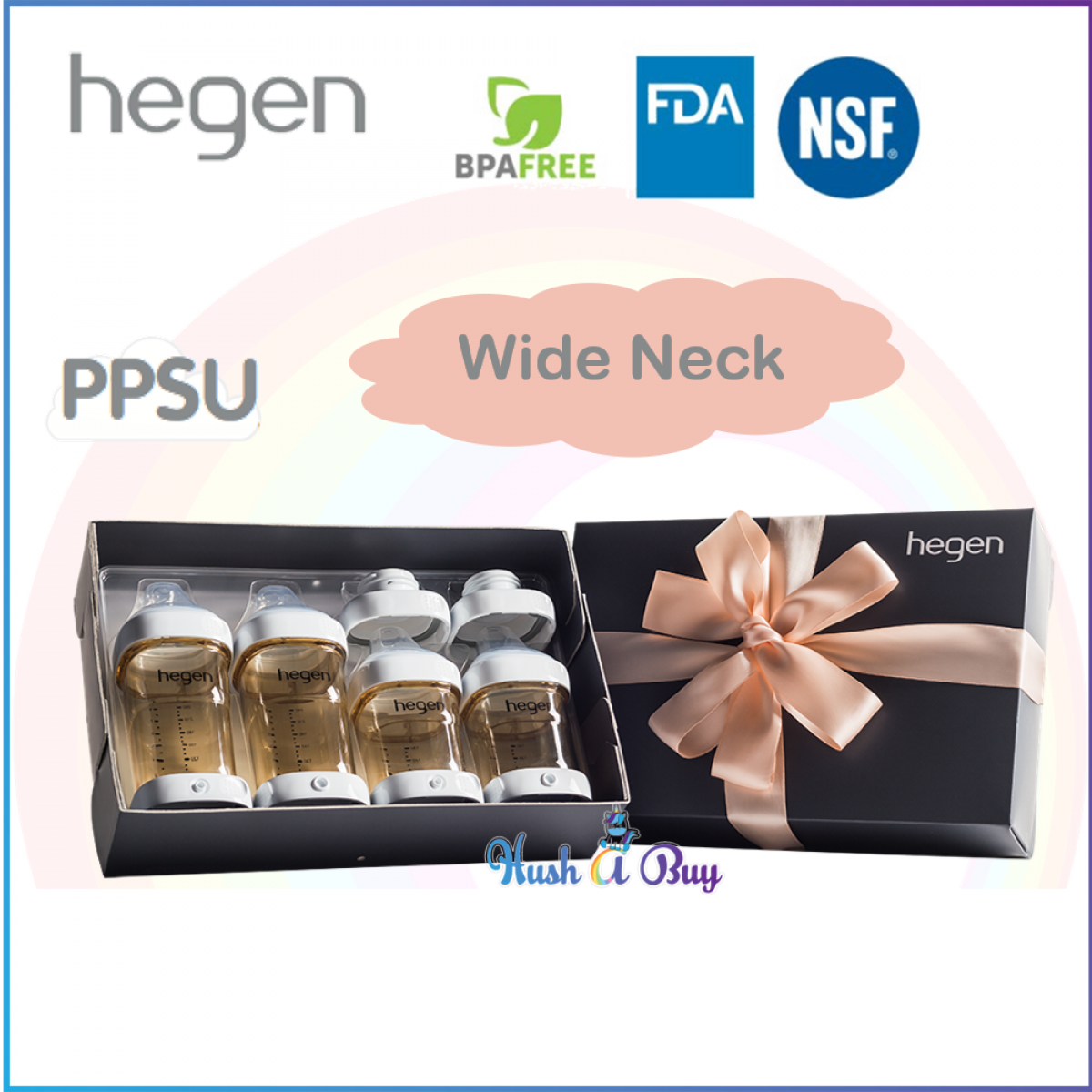 Hegen PCTO Complete Starter Kit PPSU - Standard Neck or Wide Neck