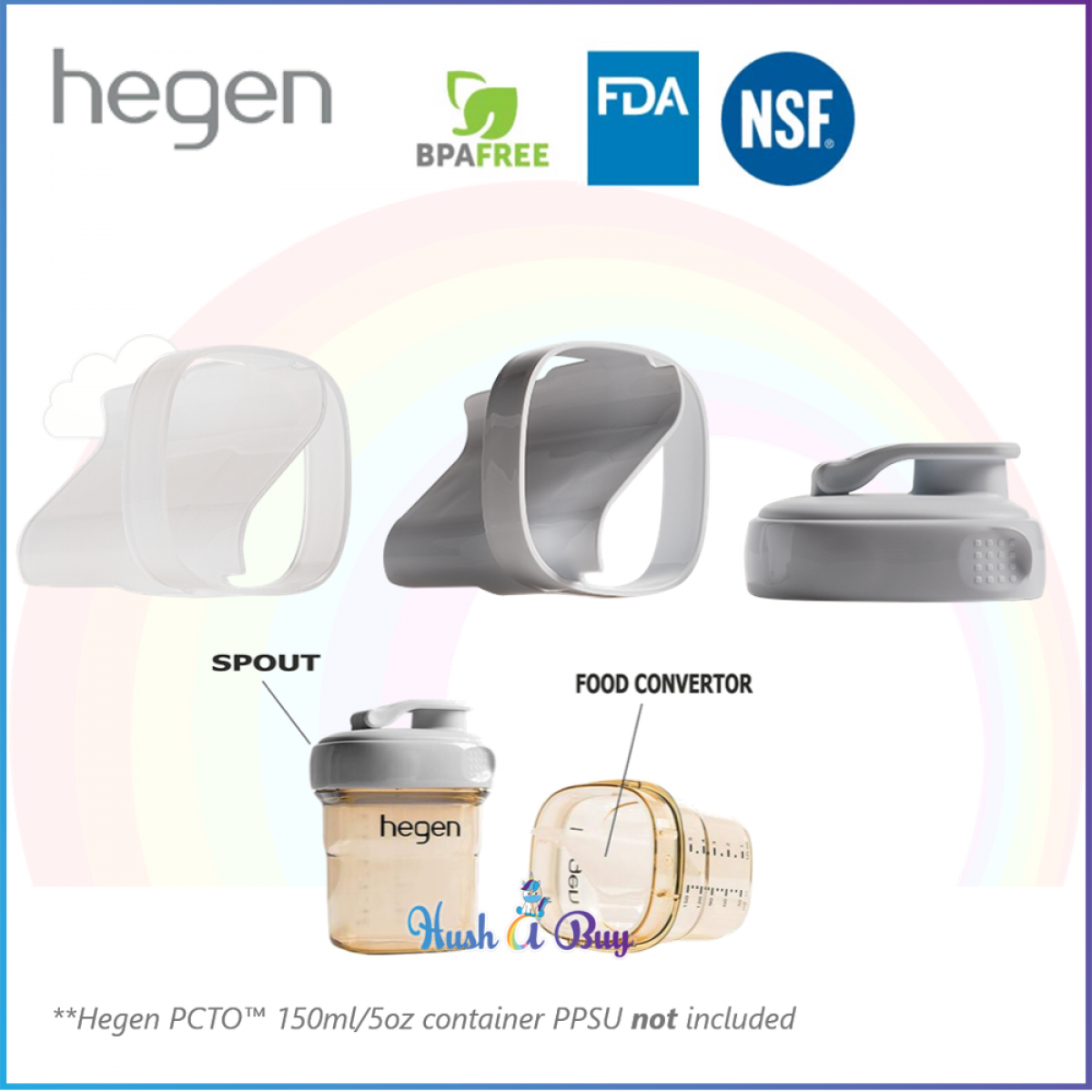 Hegen PCTO Food Storage Converter