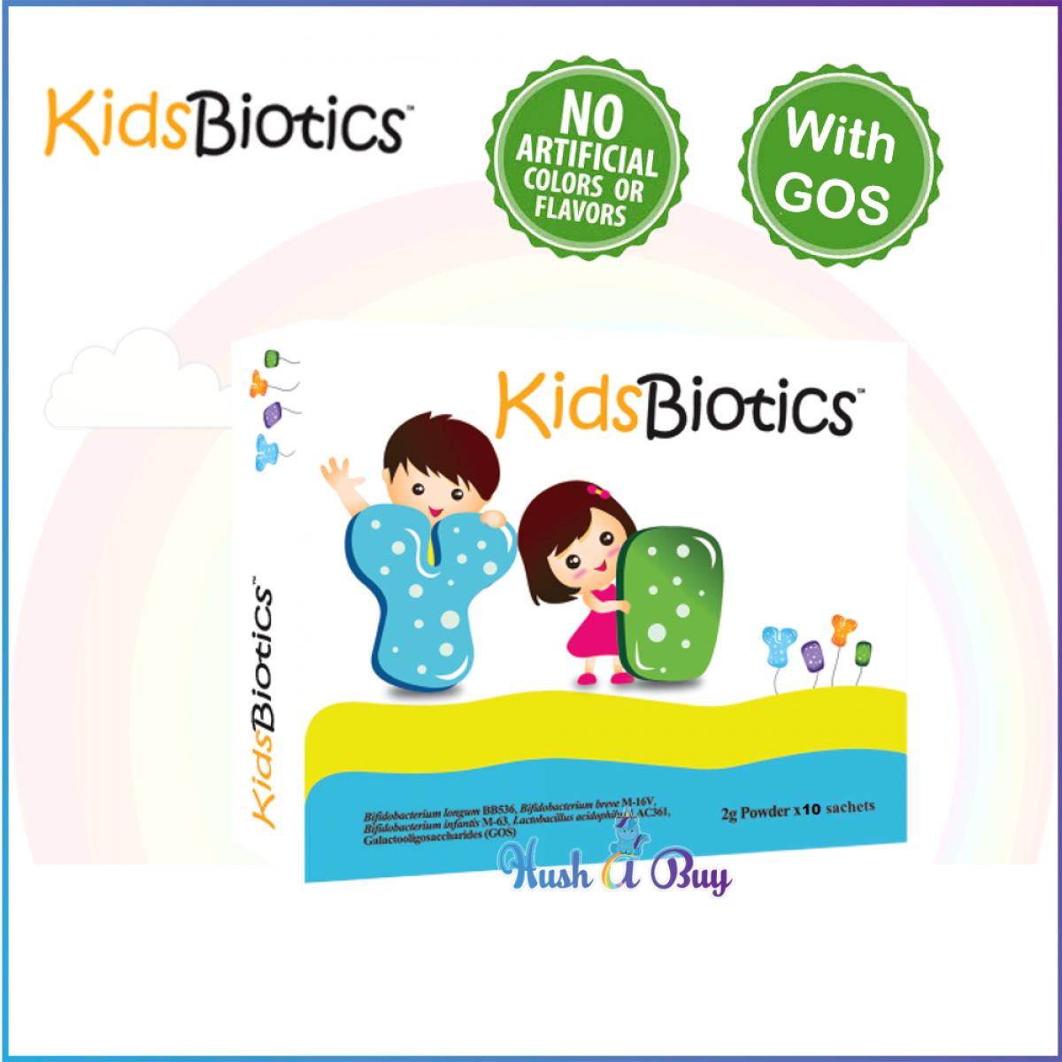 KidsBiotic (2g powder x 10 sachets) Probiotics and Prebiotics