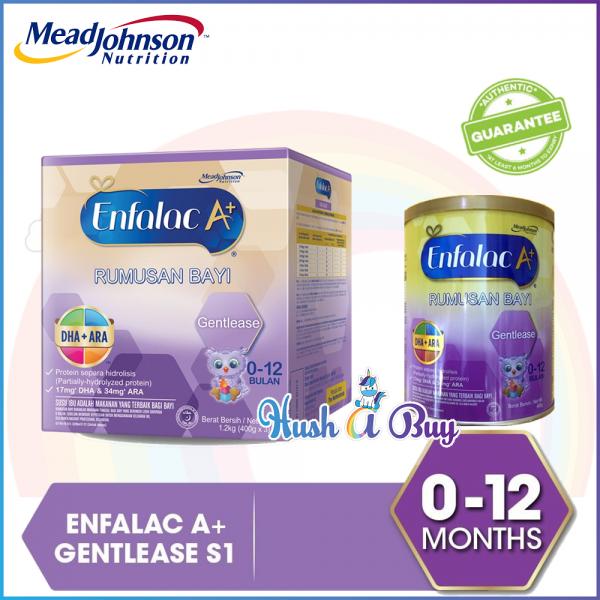 Enfalac A+ Gentlease 0 - 12 Months 400g/1.2kg