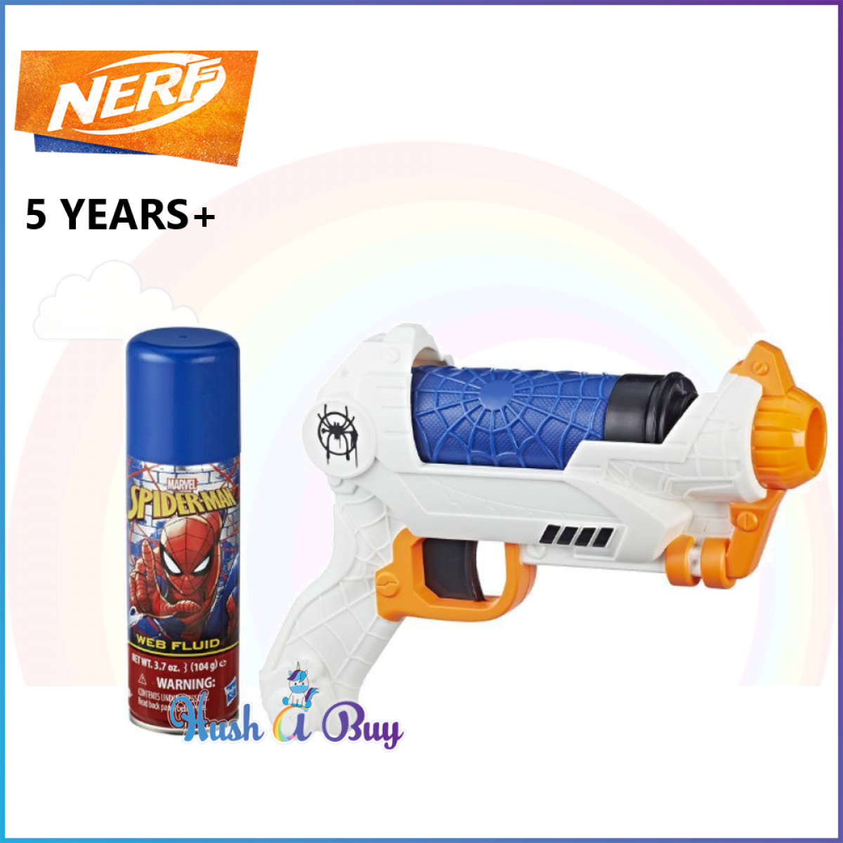Nerf Spider-Noir SPD Movie New York Super Web Blaster