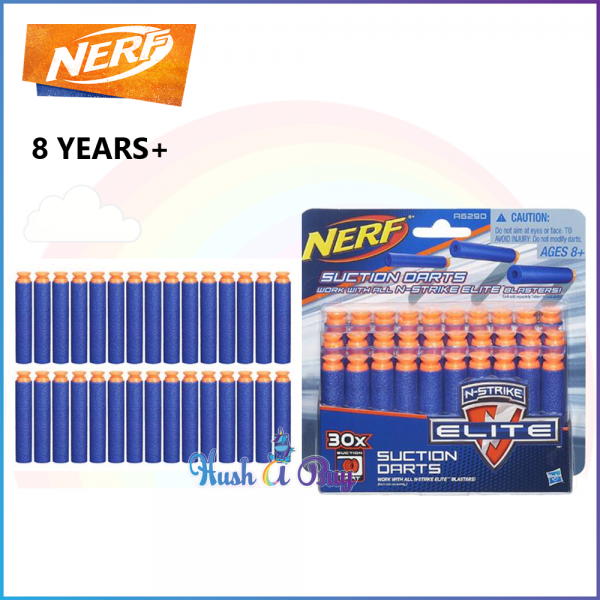 Hasboro Nerf N-Strike Elite Universal Suction Darts 30-Pack