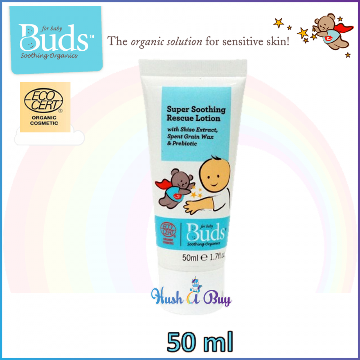 Buds Super Soothing Rescue Lotion 50ml ( Expiry : November / 2021 )