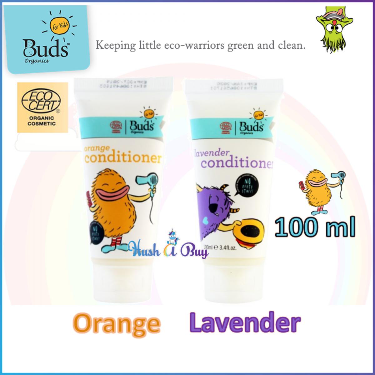 Buds For Kids Hair Conditioner- Orange/ Lavender