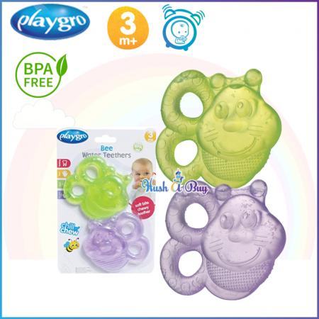 Playgro Bee Water Teether (2 Pack)