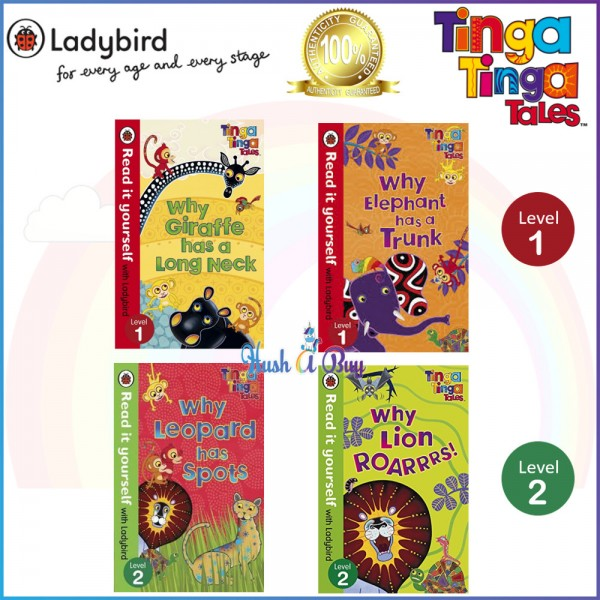Ladybird Read it Yourself: Tinga Tinga Tales  Level 1 / Level 2