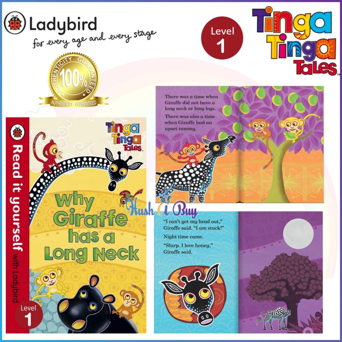 Ladybird Read it Yourself: Tinga Tinga Tales  Level 1 / Level 2