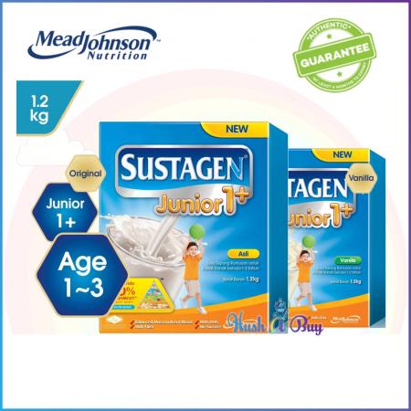 Sustagen Junior 1+ 1.2kg  Original/ Vanilla