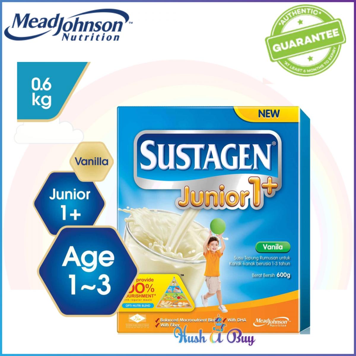 Sustagen Junior 1+ 600g Original/ Vanilla