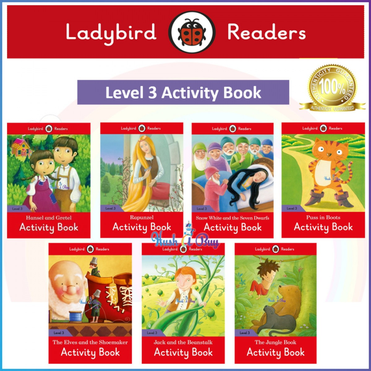 Ladybird Read It Yourself Level 3 Activity Book