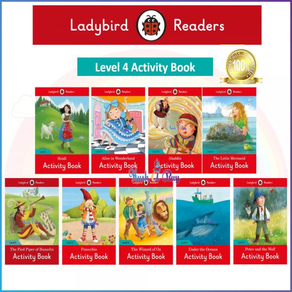 Ladybird Readers Level 4 - Activity Book