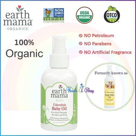 Earth Mama Calendula Baby Oil 120ml