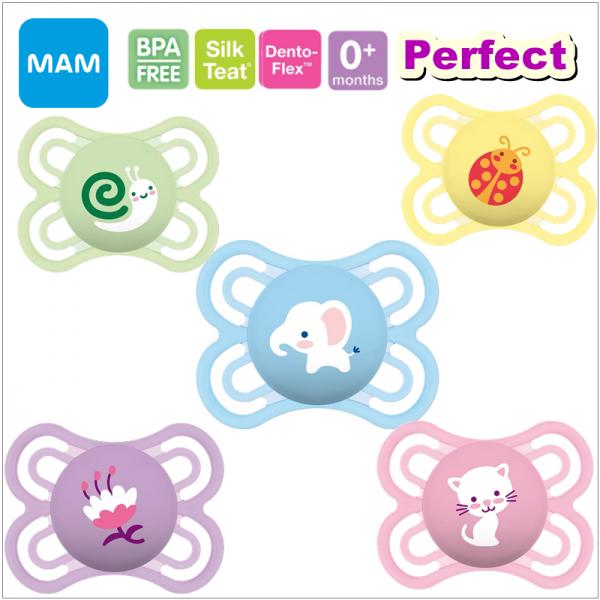 MAM Perfect Newborn Pacifier (0+ Months) - Single