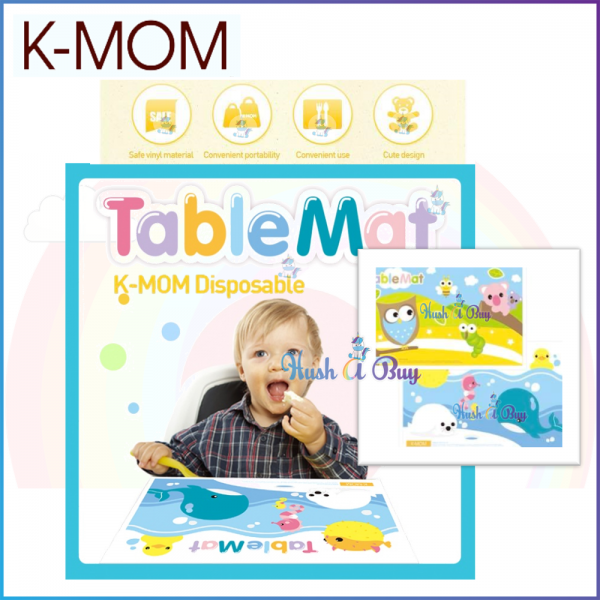 K-MOM Disposable Table Mat (20pcs/ pack)