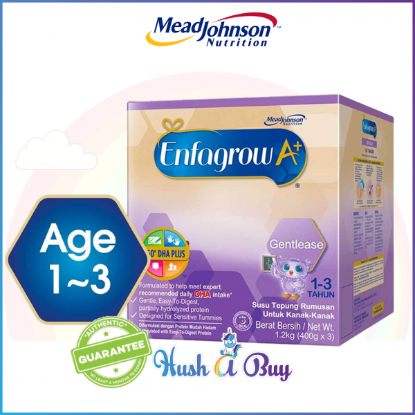 Enfagrow A+ Gentlease (1-3 years) for Colicky Baby 1.2kg