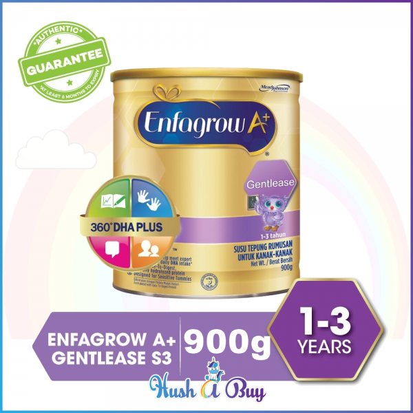 Enfagrow A+ Gentlease (1-3 years) Step 3 for Colicky Baby 900g  (EXPIRY: 02/2021)