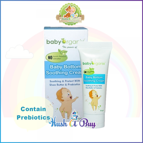 Baby Organic Baby Bottom Soothing Cream 50gm