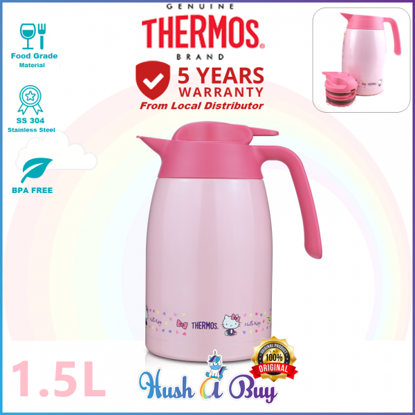 Thermos 1500ML Hello Kitty Light and Compact Stainless Steel Carafe