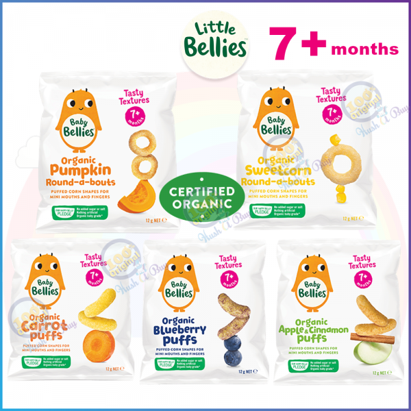 Little Bellies Organic Round-about or Puffs