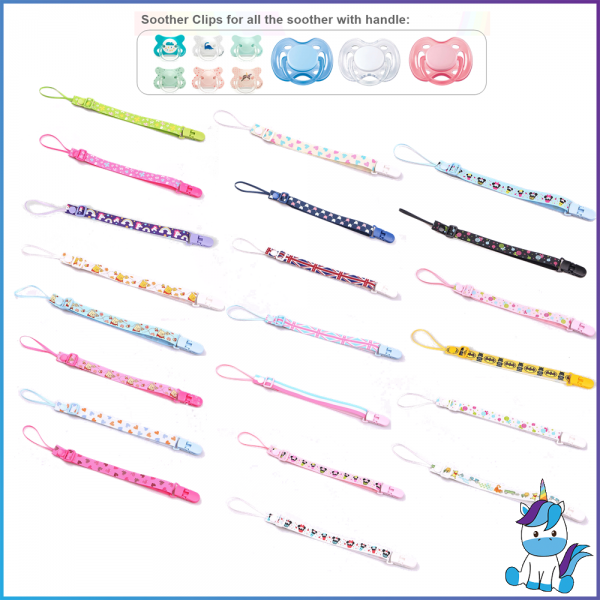 Pacifier Chain for Pacifier with Handle (Avent, Suavinex, Dr Brown, Tommie and etc)