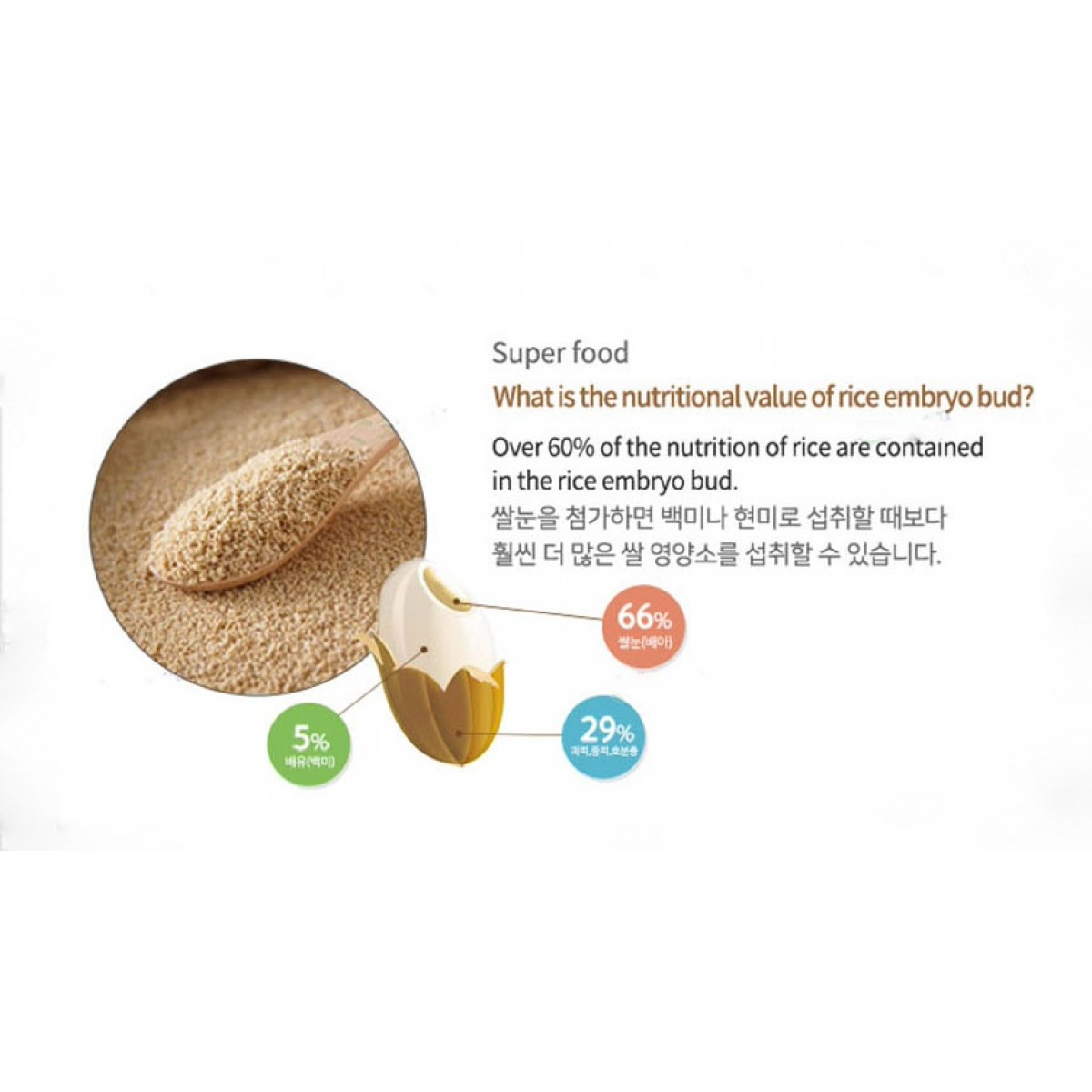 Bebedang Organic Puffed Rice Snack 8M+ Stage  2 - Made in Korea (Expiry: MAR 2020)