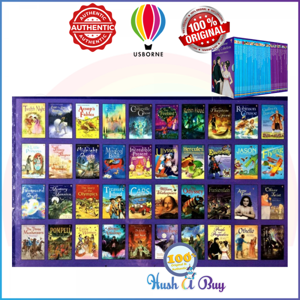 Usborne My Young Reading Library Books (40 Books in a slipcase) - Original and Authentic