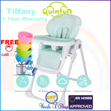 Quinton Hancy Premium Multifunction Baby High Chair FREE CALIBOWL FREE SHIPPING