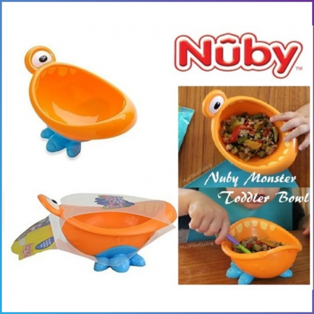 Nuby iMonster Toddler Bowl