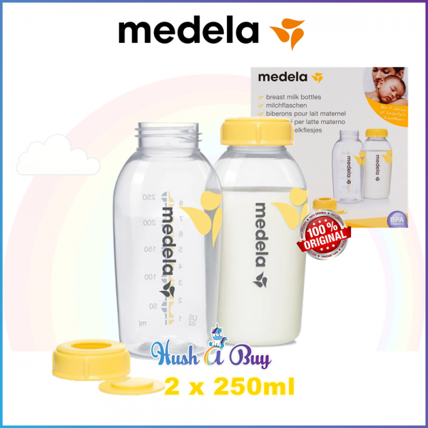 Medela Breastmilk Storage Bottle 250ml - 2-Packs