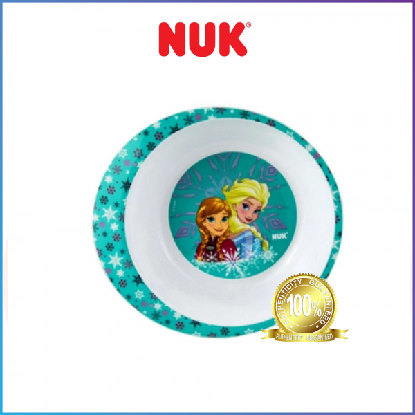 CLERANCE - NUK PP Feeding Bowl 6+Months - Mickey / Frozen