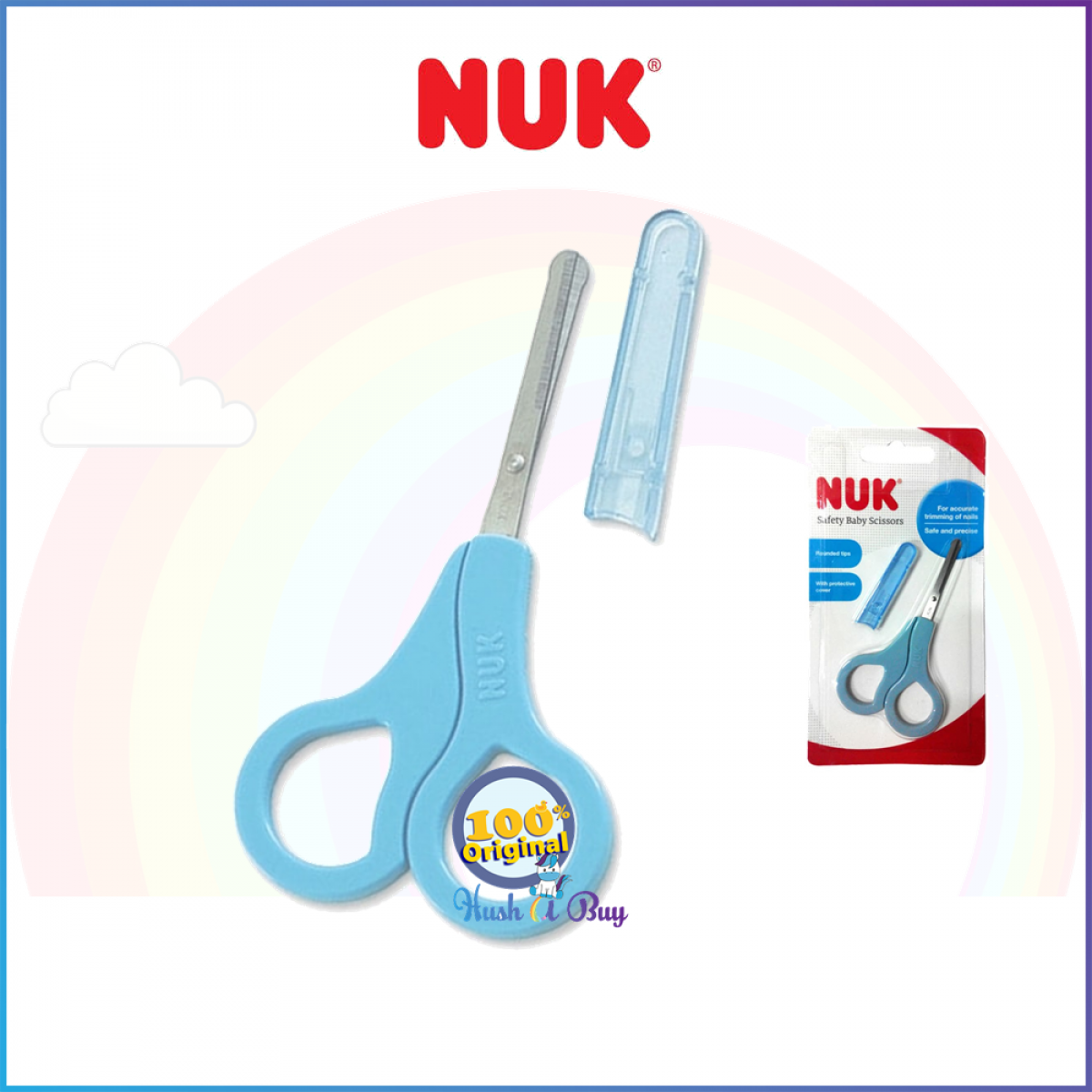 NUK Safety Baby Scissors