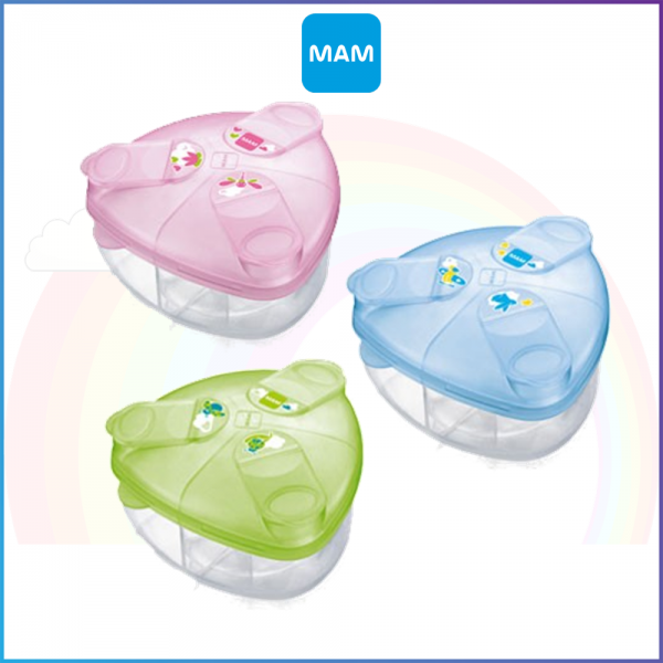 MAM Power Dispenser Box - 3 Compartments BPA FREE