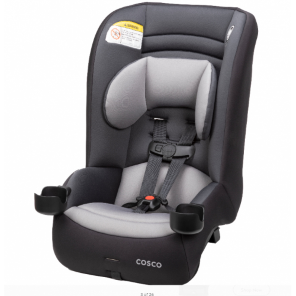 Cosco Convertible Car Seat MightyFit LX Extended Rear ...