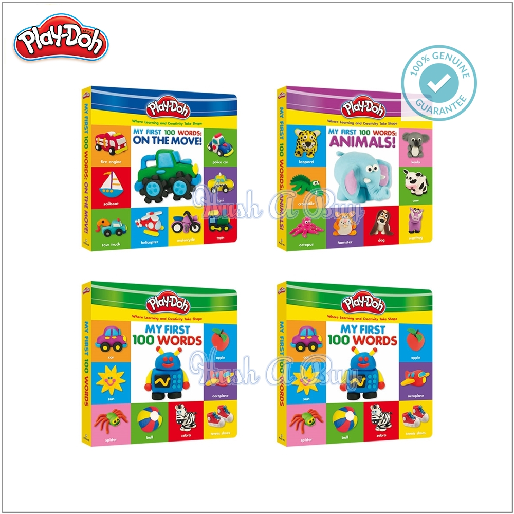 Play-Doh Deluxe Board Books