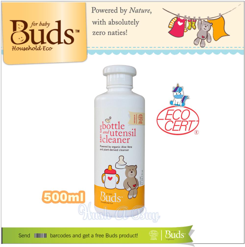 Buds Baby Safe Bottle & Utensil Cleaner 500ml
