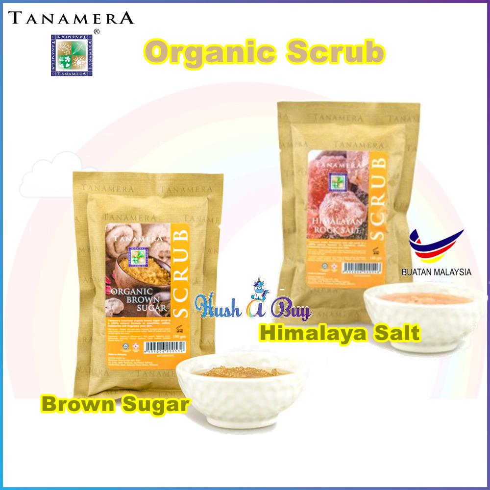 Tanamera Organic Scrub Sachet 100ml