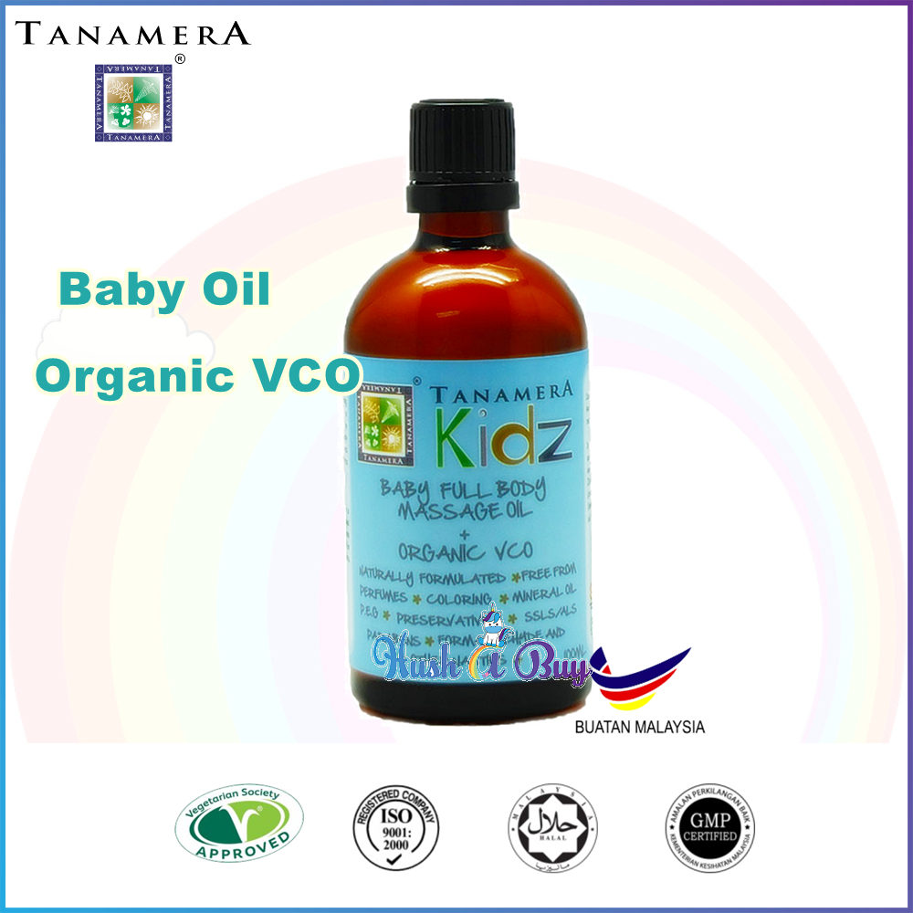 Tanamera Baby Full Body Massage oil Organic VCO 100ml