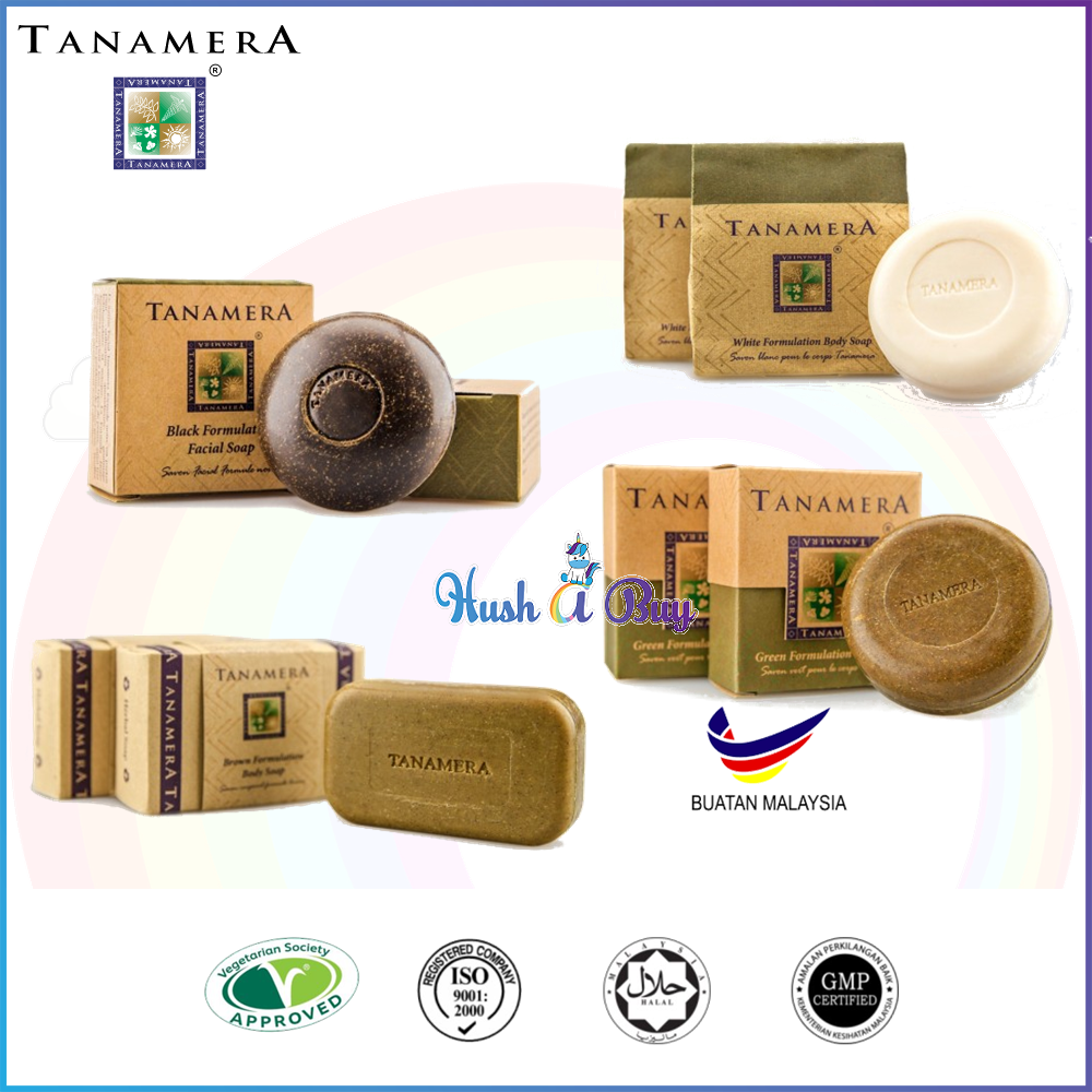 Tanamera Formulation Body Soap 125g