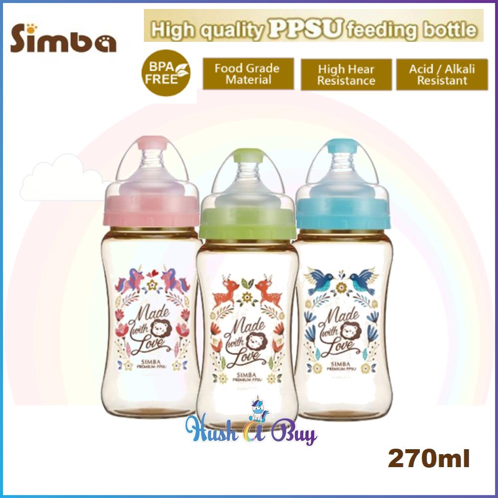Simba Dorothy Wonderland PPSU Feeding Bottle 270ml (3 Colors Available)