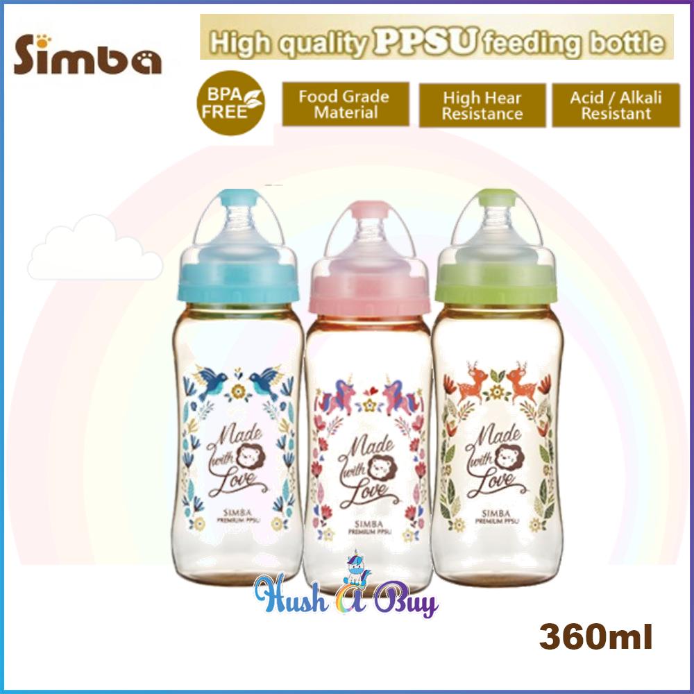 Simba Dorothy Wonderland PPSU Feeding Bottle 360ml (3 colors available)