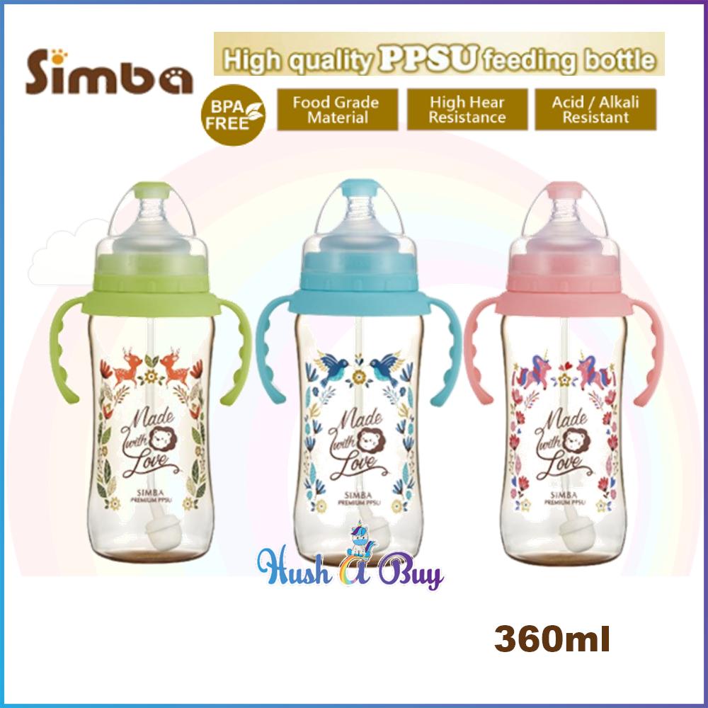 Simba Dorothy Wonderland PPSU Feeding Bottle with HANDLE 360ml