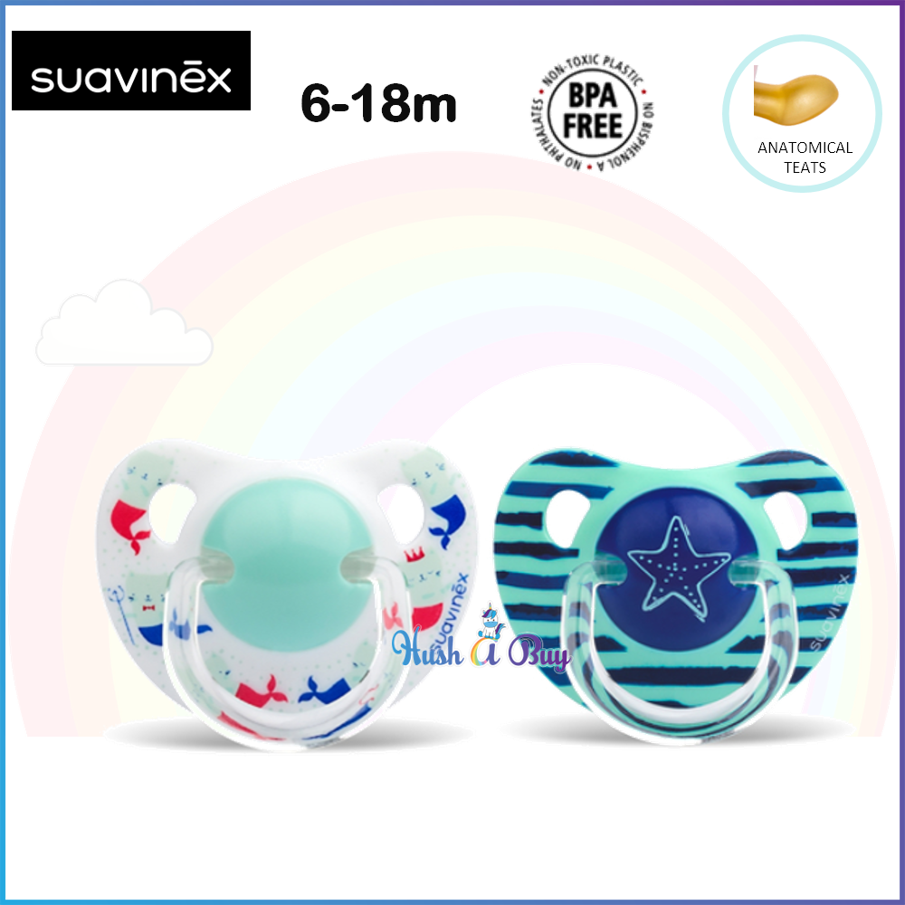 Suavinex In The Sea Collection 6 - 18 Months Anatomical Soother / Pacifier / Puting - Single