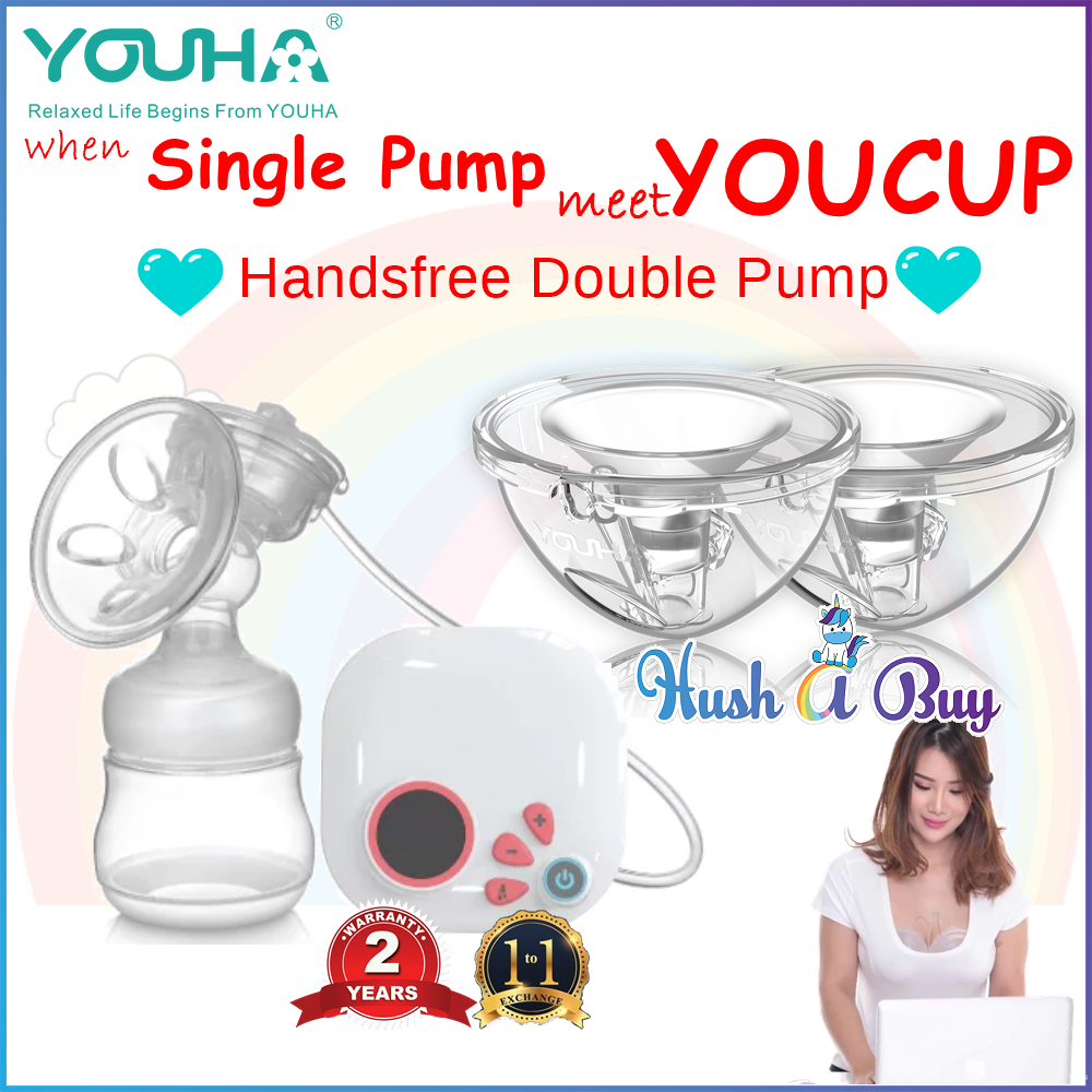 YOUHA Dainty & YOUHA YOUCUP  (Freedom to Handsfree Double Pump)