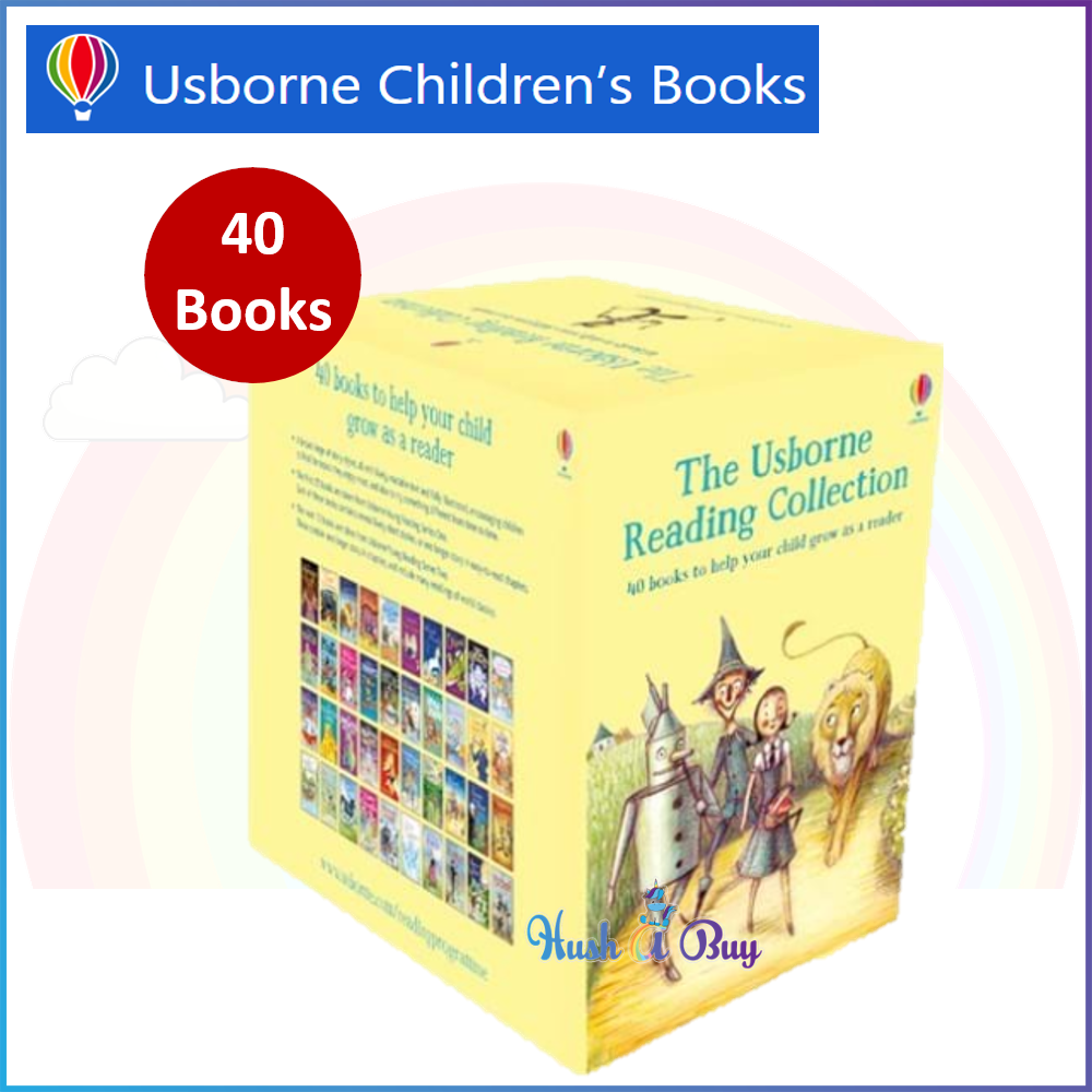 The Usborne Reading Collection (40 Books) / Children Books / Read It Youself