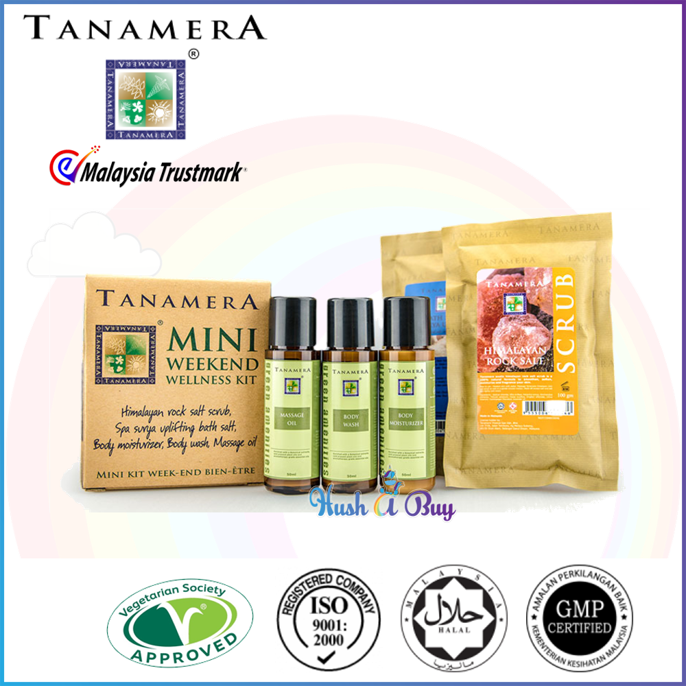 Tanamera Mini Weekend Wellness Kit