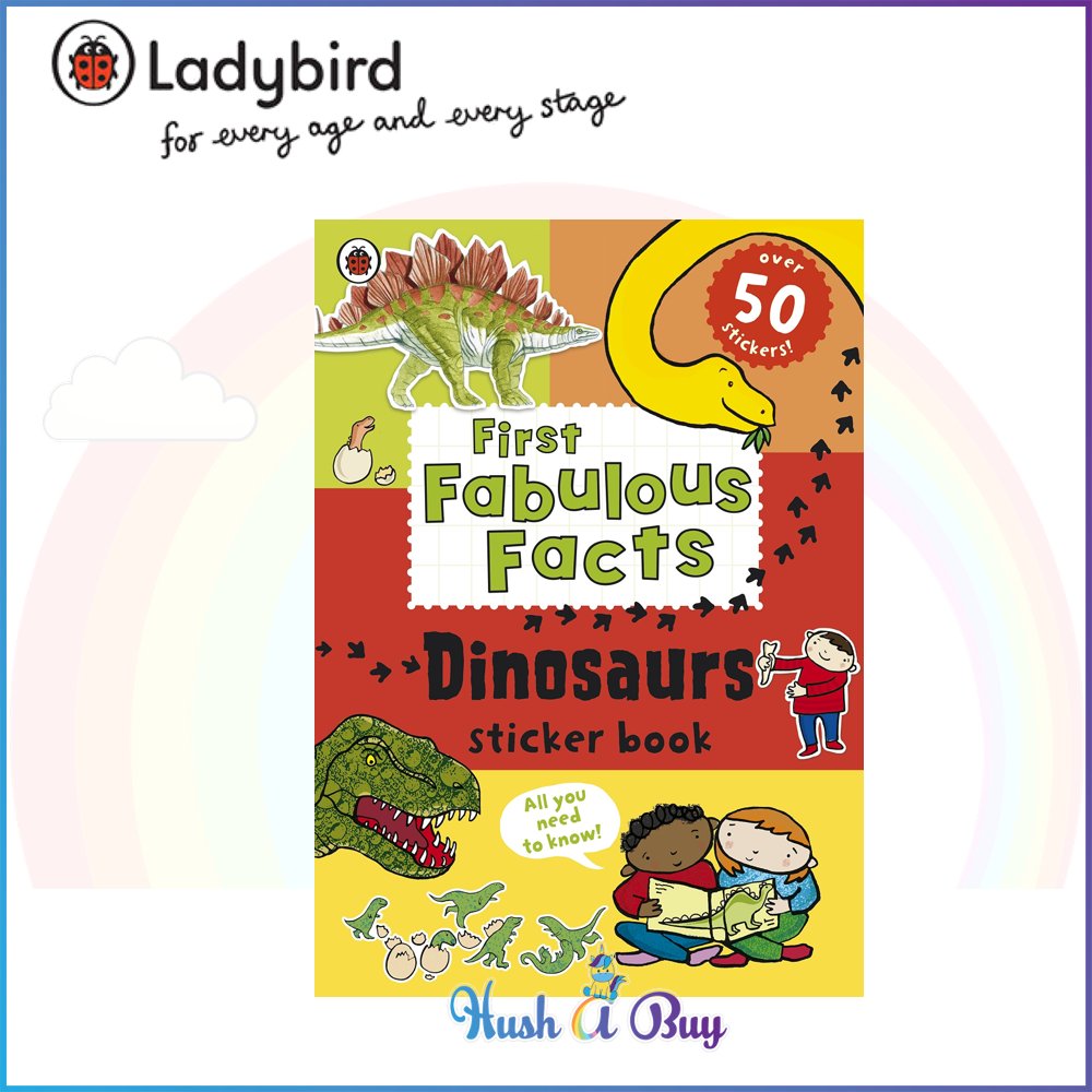Ladybird First Fabulous Facts Dinosaurs Sticker Book - Paperback