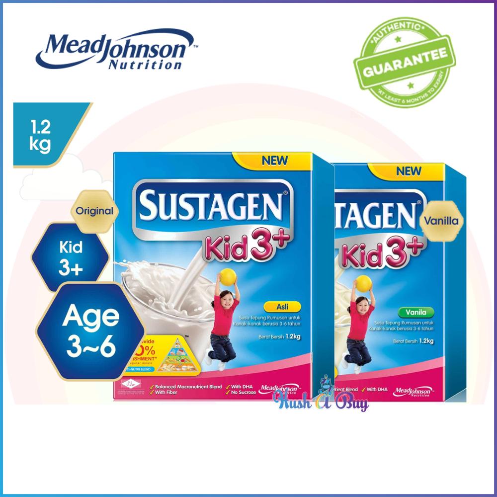 Sustagen Kid 3+ 1.2kg Original/ Vanilla