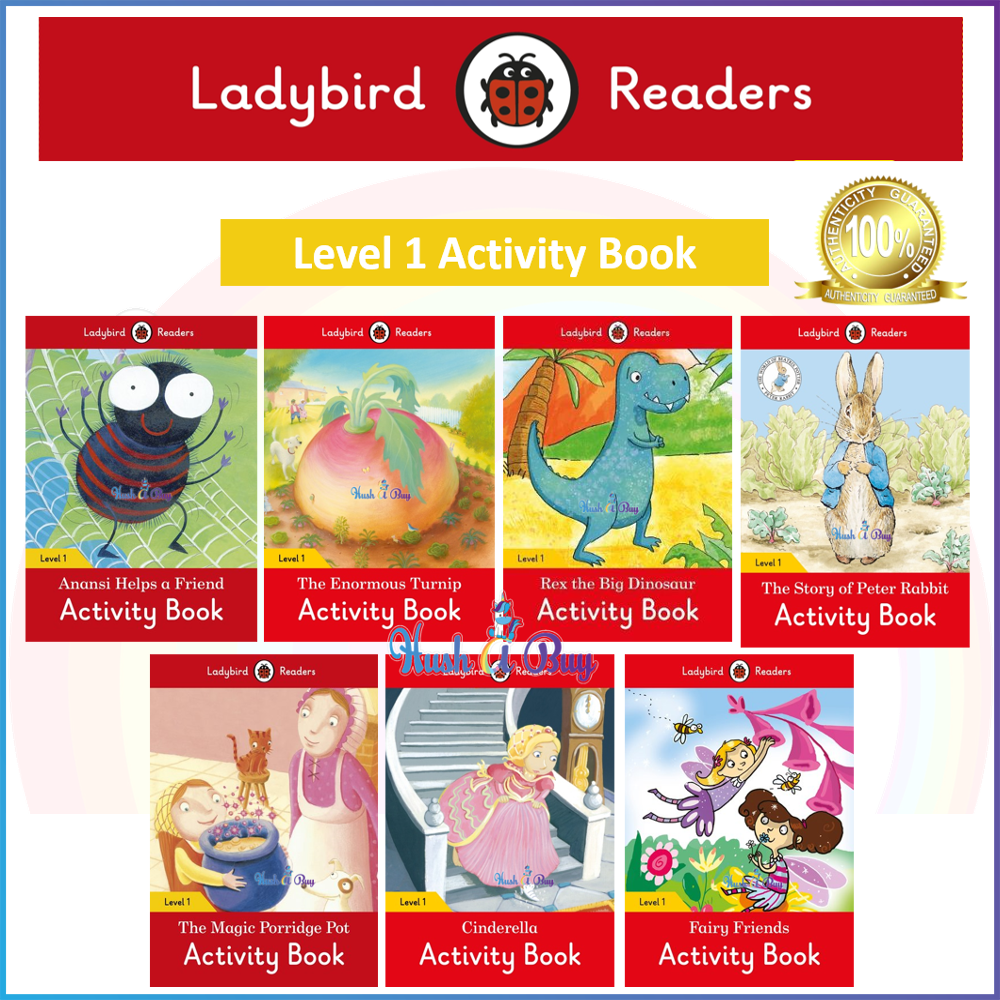 Ladybird Readers Level 1 Activity Book